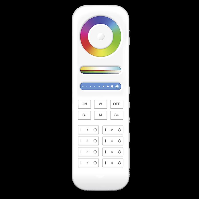 Handsender Mono/RGBW 8 Kanal